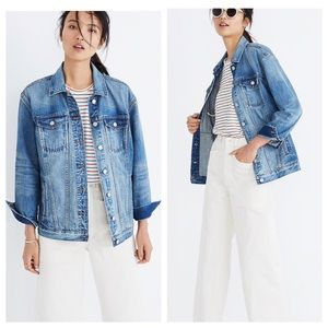 Madewell Oversized Men's Fit Jean/Denim Jacket
